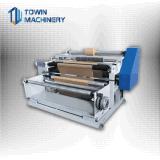 Tipo horizontal de la máquina de corte de rollo de papel de la película no tejido de plástico