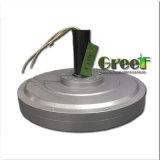 générateur de vent à un aimant permanent de Coreless T/MN de poids inférieur inférieur inférieur de couple de 1000W 1kw 150rpm, générateur axial de Coreless de flux