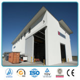 Projet préfabriqué industriel de hangar d'entrepôt de bâti en acier