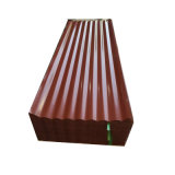 Folha de aço corrugado de cor/folha de metal/PPGI Prepainted Telhas