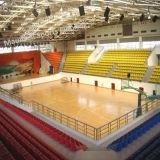 Het basketbal en Volleybal gebruikten het Binnen Vloeren van de Vlekken van pvc Plastic Gemaakt in de Fabriek van China