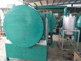 Il carbone di legna del legno duro ammassa la stufa del forno della cupola di carbonizzazione