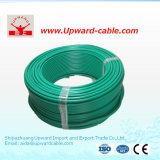 Cable de alambre 2.5m m eléctrico flexible sólido aislado