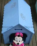 Cage diatomée d'animal familier avec couleurs roses/blanches/bleues