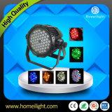 Beleuchtet wasserdichte 54*3W RGB Stadiums-Beleuchtung DJ des heißen Verkaufs-LED-NENNWERT Licht