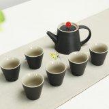 Insieme di tè stabilito del regalo di Pomotional di tè dell'insieme della porcellana della tazza di ceramica della teiera