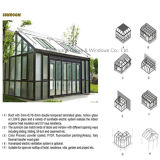 Feelingtop doble acristalamiento templado Aluminio casa verde (FT-S)