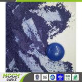 Pigmento azul em pó fluorescente de pantufas