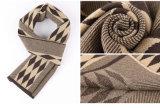 Шарф зимы способа людей связанный шерстями теплый длинний (YKY4608)