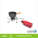 Estufa de queroseno portátil con una olla grande Soporte