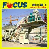 Planta de tratamento por lotes concreta rápida, planta de mistura Yhzs50/60 concreta móvel
