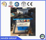 Машина качества 4*200 тавра Китая верхняя гидровлическая надрезая