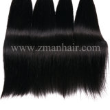 膚触りがよくまっすぐな質の最もよい人間の毛髪の織り方