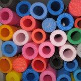 Tubo riempito di gomma piuma del PE, tubo di EPE, tubi vuoti della gomma piuma che fanno macchina