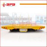 De elektrische Gedreven Gemotoriseerde Aanhangwagen van het Platform van de Overdracht op Sporen