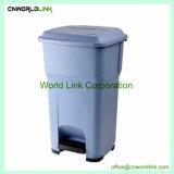 Quarto Cores Diferentes 30 L de PP de caixote do lixo de pedal para interior