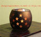 Heet verkoop de Houder van de Kaars van het Glas van de Kop van de Kaars van het Glas van de Ambacht van het Glas van de Kandelaar