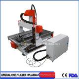 水冷却を用いる小さいデスクトップ4の軸線600*900mm CNCの彫版の打抜き機