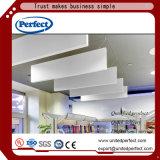 異なったタイプのガラス繊維によって絶縁される天井のボード