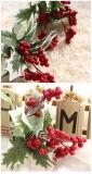 Flor de la Navidad de la flor artificial para la decoración casera