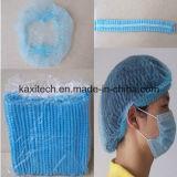 Устранимый Non-Woven эластик крышки толпа сети волос освобождает размер