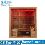 4 a 6 Pessoa Autoportante Rectângulo Sala de Sauna de madeira (M-6044)