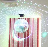 10 ~ 100cm boda Reflexión bola de espejo reflectante de cristal Light Bar salón de baile mágica iluminación de la etapa