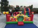 中国の膨脹可能な警備員は子供の遊園地のためのゲームを遊ばす