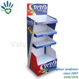 Scatola del PVC delle 4 file/Pegboard/cremagliera mensola del metallo per la promozione dello spuntino e dell'alimento che fa pubblicità al video