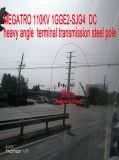 Megatro 110kv 1gge2-Sjg4 Gleichstrom-schwerer Winkel-Terminalübertragungs-Stahl Pole