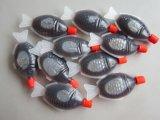 De Saus van de Soja van de Vorm van vissen met Super Kwaliteit van China