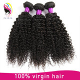 Uitbreiding van het Haar van de Krul van 100% voert de Onverwerkte Kroezige, de Natuurlijke Uitbreidingen van het Haar in