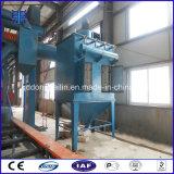 Macchina di pulizia del piatto d'acciaio della macchina di granigliatura