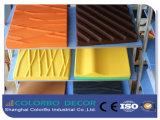 3D padrão acústico de absorção de fibra de PET