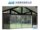 Double vitré glissant la porte en aluminium pour l'extérieur utilisé