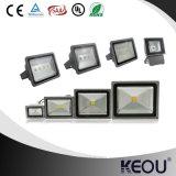 Diodo emissor de luz 10-200W 2700-6500k IP65 CRI80 PF0.9 IP65 AC85-265V de Proyector