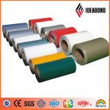 A cor de Ideabond revestiu a bobina de alumínio para a decoração da parede de cortina