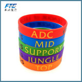 Fashion Jewelry of silicones Personalized Bracelet fit for 8mm Slide Letters/Charms