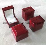 Коробка кольца рояля вишни классик лоснистая деревянная