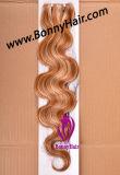 De Inslag van de huid, de Inslag van het Haar van de Band van Pu, vilt Weft Uitbreiding van het Haar, de Hand Gebonden Inslag van de Huid, het Maagdelijke Remy Menselijke Haar van 100%, Beste Kwaliteit, de Concurrerende Uitbreiding van het Haar van de Prijs