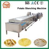 감자 튀김과 감자 희게 하는 기계