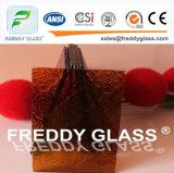 l'acide givré rose de miroir de 2-12mm a repéré la glace