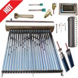 acero inoxidable de alta presión calentador de agua solar (Sistema de energía de calefacción solar)