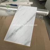 Плитка пола Китая Carrara белая мраморный, плитка ванной комнаты мраморный