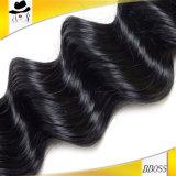 よいペルーの毛ナイジェリアのバージンの人間の毛髪のよこ糸のアプリケーション