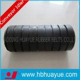品質の確実なゴム製コンベヤーベルトのアイドラーローラーの直径89-159mm Huayueの黒く赤い緑