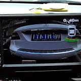 16.5mm後部オリジナルスクリーン車のビデオ駐車センサーシステム