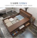 Het hete Moderne Eenvoudige Houten Bed van de Verkoop