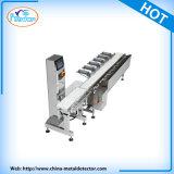 A verificação do peso da linha de produção da máquina para a linha da indústria