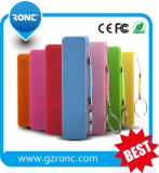 Wholesales 2000mAh Portable Mobile Power Bank para iPhone e Android
